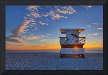 Sun Star ~ 18th Street Lifeguard Tower