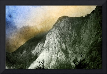 Mt Si Late Summer With Textures