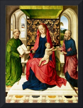Workshop of Dirk Bouts - The Virgin and Child with