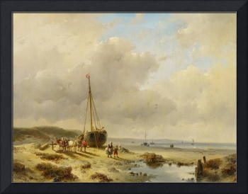 SCHELFHOUT, ANDREAS The Hague 1787 - 1870 Fishing