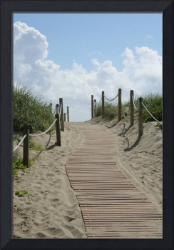 Heavenly Beach Path