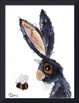 THE HARE AND THE BUMBLE BEE