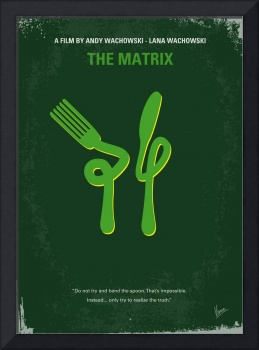 No093 My The Matrix minimal movie poster