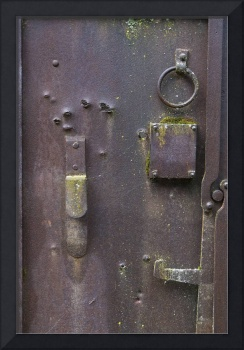 Vintage Winery Door