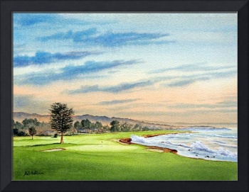 Pebble Beach Golf Course 18Th Hole