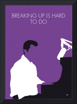 No131 MY NEIL SEDAKA Minimal Music poster