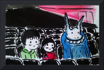 Donnie Darko-cinema scene