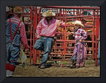 Scene At A Rodeo, NumberSix