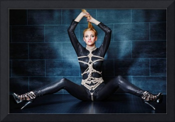 Tied in Catsuit - Fine Art of Bondage