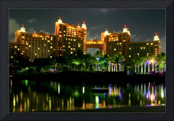Atlantis Royal Towers at Night