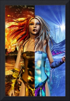 Fire & Ice Science Fiction Fantasy Art