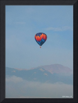 Balloon and Pikes Peak