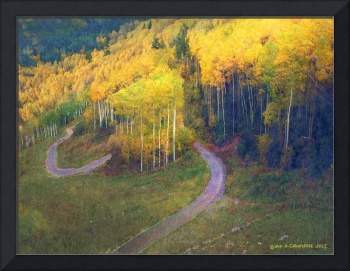 the old pass road, telluride