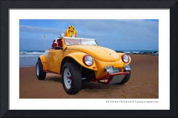 VW Beach Buggy Poster
