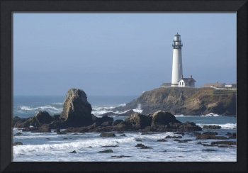 Pigeon Point Lighthouse, California Coastline