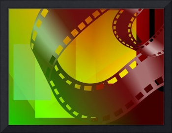 Clip art of film  roll