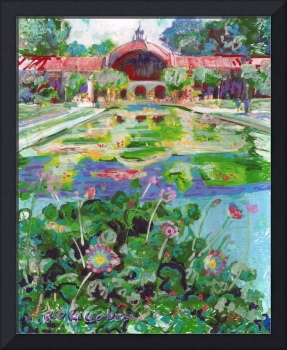 Botanical building and Lily Pond in Balboa Park