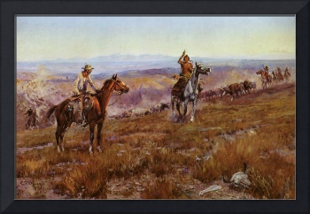 Toll Collectors (1913) by Charles Russell