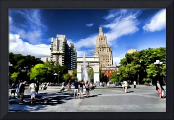 Washington Square Park in NYC
