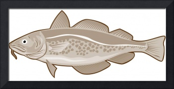 Atlantic Codfish Retro