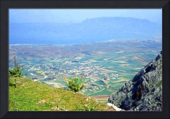 View from the Acrocorinth, Greece