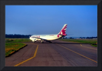 Qatar A300-600 Cargo,  TO From Colombo