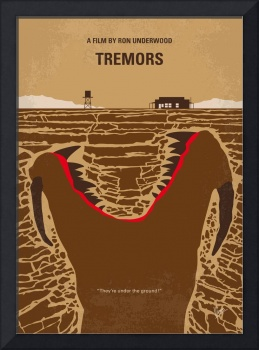 No688 My Tremors minimal movie poster