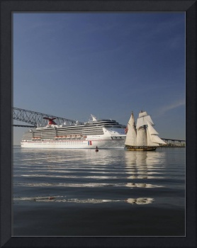 Carnival Pride and Pride of Baltimore ll