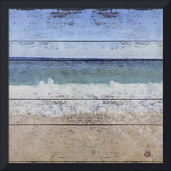 Seascape Rustic Art