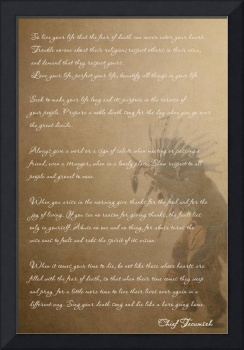 Tecumseh - Words of Wisdom