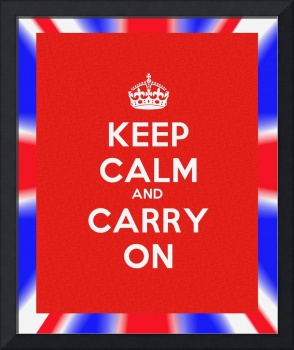 Leet Calm and Carry on Poster v3