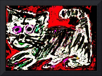 Art Brut Kitty Cat