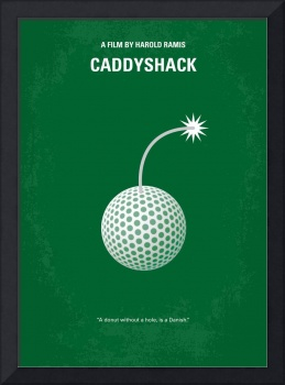 No013 My Caddyshack minimal movie poster