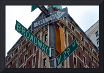 Urban Crossroads, New York City, USA