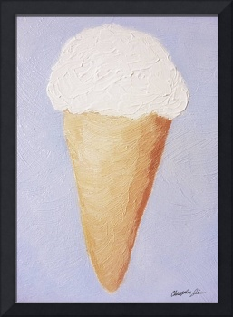 Ice Cream Cone - Second Oil Painting