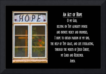 An Act of Hope Prayer