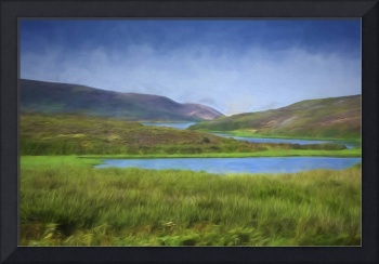 Photo Painting of Point Reyes Estuary