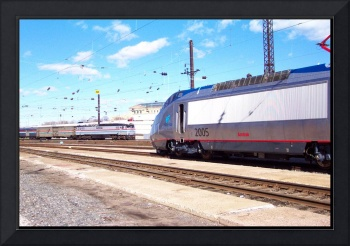 Amtrak Locomotives in Phila. Penna.