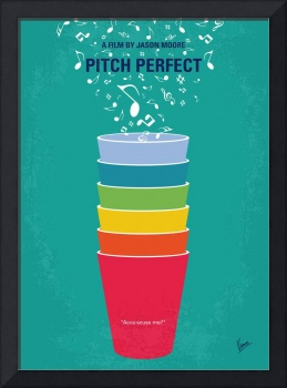 No660 My Pitch Perfect minimal movie poster