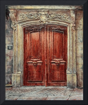 Parisian Door No. 8