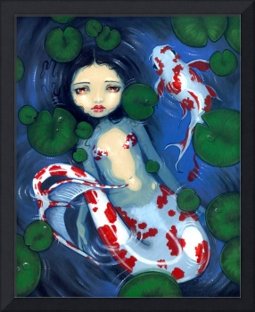 Koi Pond Mermaid
