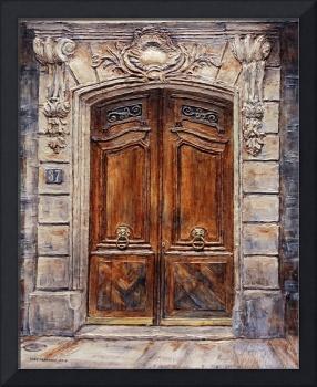 Parisian Door No. 37@CC5FAA