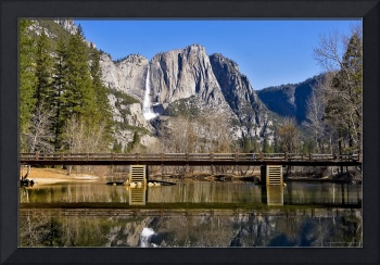 Swinging Bridge, Yosemite