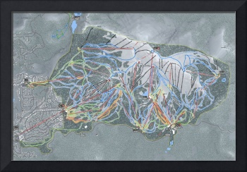 Mammoth Mountain Resort Trail Map