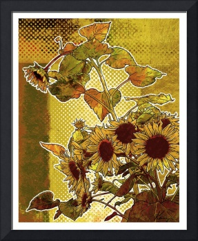 Modern Florals: Sunflowers