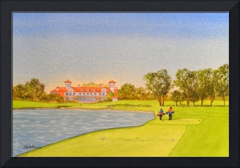 TPC Sawgrass Golf Course 18th Hole