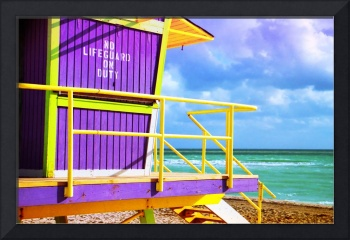 Lifeguard Tower at 12th Street, Vignette
