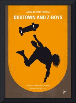 No450 My Dogtown and Z-Boys minimal movie poster