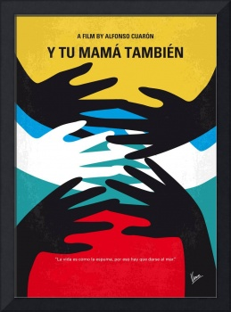 No468 My Y Tu Mama Tambien minimal movie poster