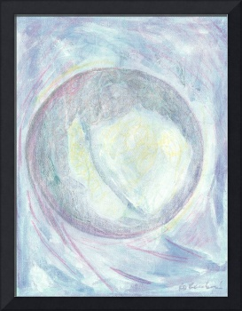 Rollie Pollie Planet Abstract Painting